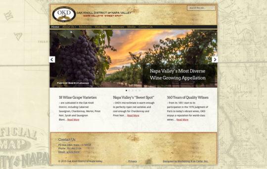 Website – Oak Knoll District